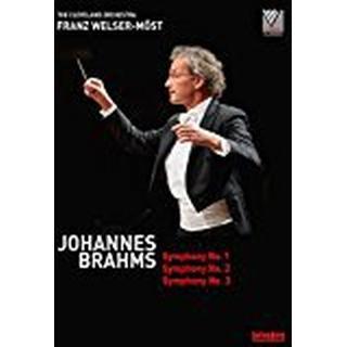 Brahms: Symphonies 1, 2 & 3 [The Cleveland Orchestra; Franz Welser- Möst ] [Belvedere: BVE08007] [DVD]